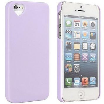 The Heart Shaped Jelly Ice Cream Case for iPhone 5/5S ( Color : Pink )