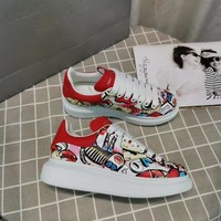 Alexander Mcqueen Graffiti Oversized Sneakers Reference #016 - Best Deal Online