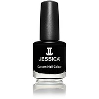 Jessica Nail Polish - Black Lustre 0.5 oz - #758