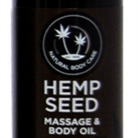 Earthly Body Lavender Hemp Seed Massage Oil - 2 Oz.