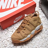 Nike Air More Uptempo Wheat Basketball Shoes - Best Online Sale