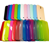 TPU Silicone Gel Phone Case Soft Skin cover for Samsung Galaxy S4 SIV i9500 Lot
