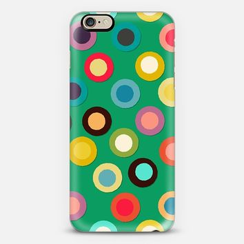 green pop spot iPhone 6 case by Sharon Turner   Casetify