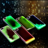 *[ETC]-Liquid Glow-In-The Dark iPhone Clear Cases- Multiple Colors