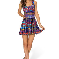 A Whole New World Scoop Skater Dress