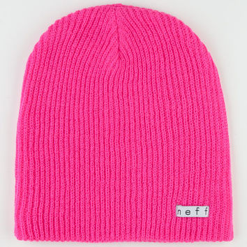 Neff Daily Beanie Magenta One Size For Men 19790135301