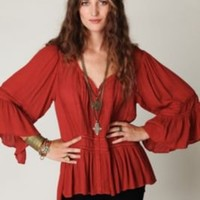 Free People Victorian Inset Tunic at Free People Clothing Boutique