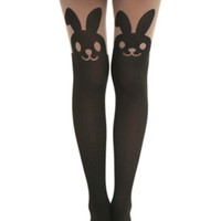 LOVEsick Bunny Faux Thigh High Tights