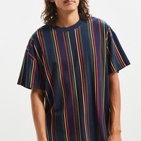 UO Dillon Vertical Stripe Tee | Urban Outfitters