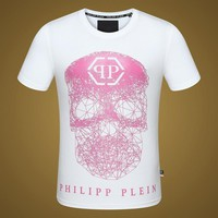 2018 Men Cheap Philipp Plein T Shirt hot sale ♂055
