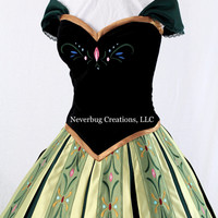 Snow Princess Anna Coronation Costume
