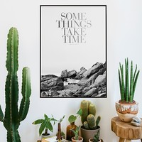 MONOQI | Some Things Poster - Silver