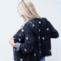 isabelle's cabinet Star Girl Denim Jacket