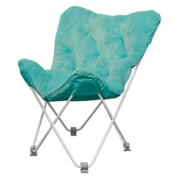 Tufted Bungalow Folding Butterfly Chair