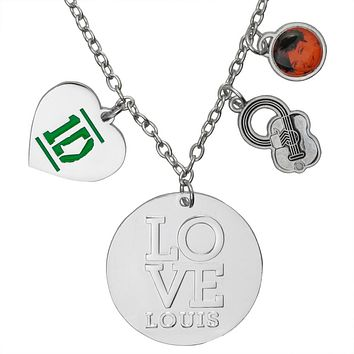 One Direction - Heart Louis Charm Necklace