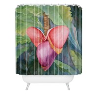 Rosie Brown Going Bananas Shower Curtain
