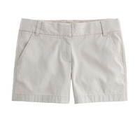 "J.Crew Womens 4"" Chino Short"