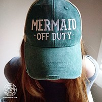 Mermaid Off Duty - Hat
