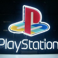 Playstation Game Room Sign