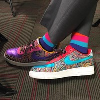 """SAGERSTRONG x NIKEiD Air Force 1 Low """"Craig Sager """" 815773-991"""