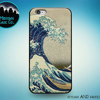 Great Wave Off Kanagawa Rubber Case for iPhone 7 Plus 6s 6 SE 5s 5 5c iPod Touch