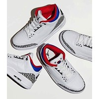 Air Jordan 3 Retro South Korean Seoul AJ3 Sneakers