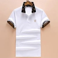 Boys & Men Louis Vuitton T-Shirt Top Tee G
