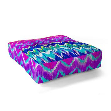 Holly Sharpe Summer Dreaming Floor Pillow Square