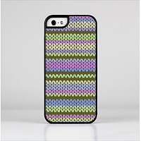 The Colorful Knit Pattern Skin-Sert for the Apple iPhone 5-5s Skin-Sert Case