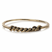 Chain Insert Bangle Bracelet - Wristwear - Mens Jewelry - Shoes and Accessories- TOPMAN USA