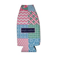 Simply Southern Multipatch Bottle Koozi | Palmetto Moon