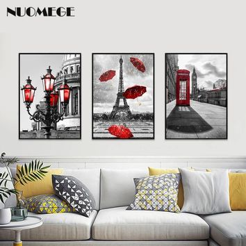 Kess InHouse Tobe Fonseca Colorful Trend Pattern Red Yellow Digital Wall Tapestry