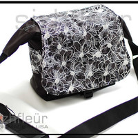 Boho DSLR Camera bag With Zipper Enclosure and by sizzlestrapz