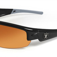 Oakland Raiders Men's NFL Sunglasses and Free Micro Fiber Matching Case