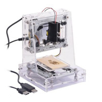 300MW Laser Engraver Cutter Machine with CNC Printing in Transparent & Elevated Design