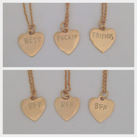 BFF Necklace Trio
