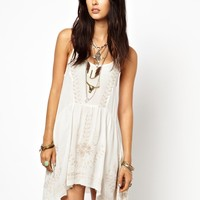 Free People | Free People Meadows Slip Dress with Embroidery at ASOS