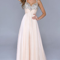 Beaded Evening Gown by Nina Canacci