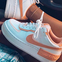 Nike Air Force 1 Shadow Women Men Fashion Casual Low-Top Old Skool Shoes