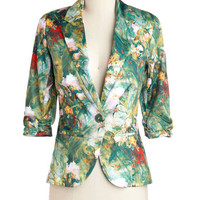 ModCloth Mid-length Long Sleeve Must Be Lucid Dreaming Blazer
