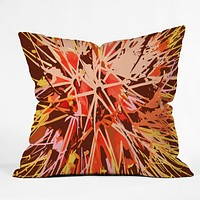 Rosie Brown Natures Fireworks Throw Pillow