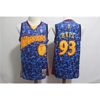 93 Bape X Warriors Bulls Celtics Lakers Blazers Rockets Knicks Basketball Jersey