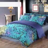 Satin twill four pieces bedding suit - quilt cover,bedspread,pillowcases from House Beauty