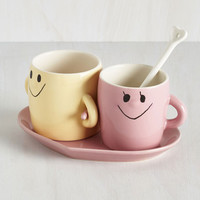 Quirky A Couple of Sweethearts Mug Set by ModCloth