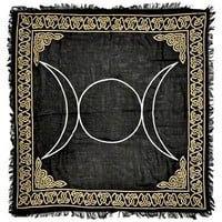Triple Moon Gold Altar Cloth