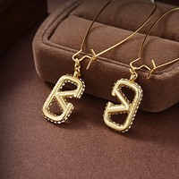 Valentino Women's Fashion Accessories Fine Jewelry Ring & Chain Necklace & Earrings 07046