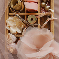 DIY: Gorgeous Chiffon and Tulle Flowers