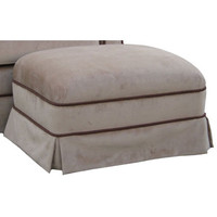 Angel Song 221021178 Classic Velvet Brown Adult Club Gliding Ottoman
