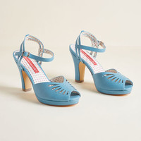 B.A.I.T. Footwear Float You Forget About Me Heel in Sky
