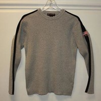 Vintage Ralph Lauren Polo Jeans Co. Sweater Pullover Grey Large